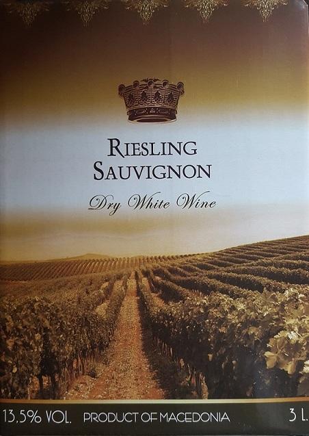 Riesling-Sauvignon (baltas, sausas)